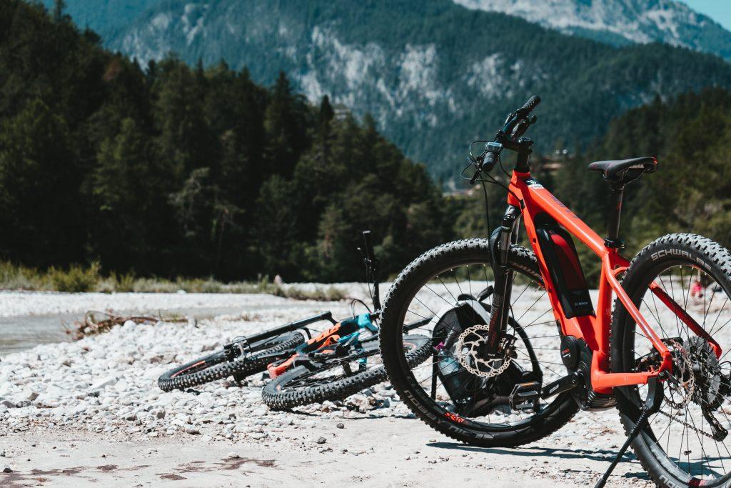 E-Bikes und Fahrräder