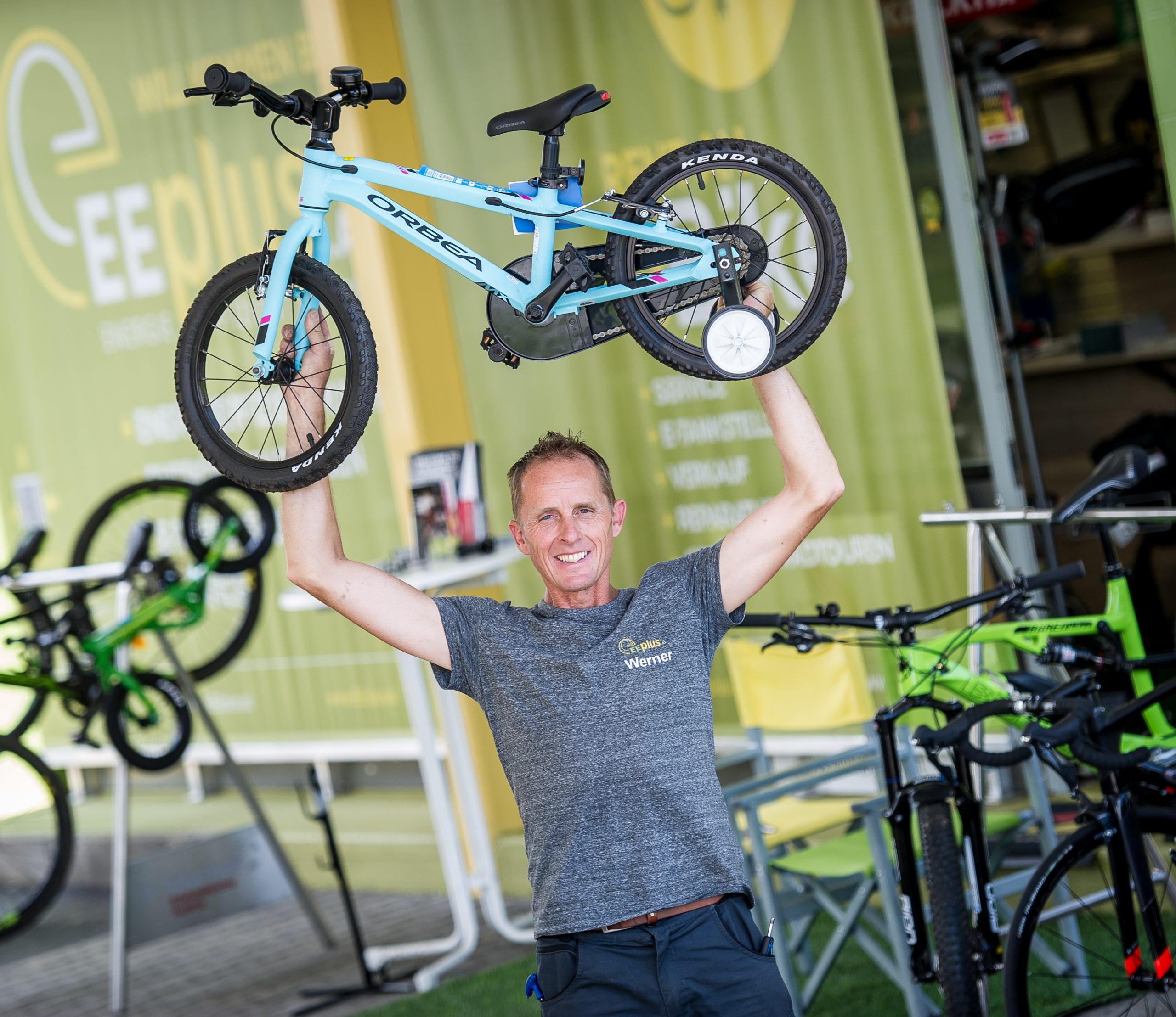 Verkauf von E-Bikes und Fahrrädern